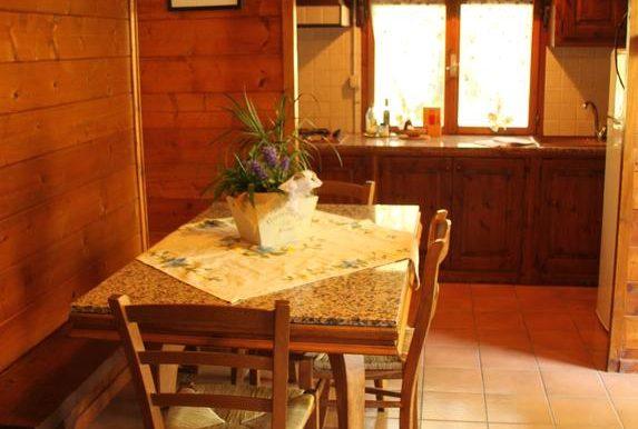 18 soggiorno-cucina Chalet