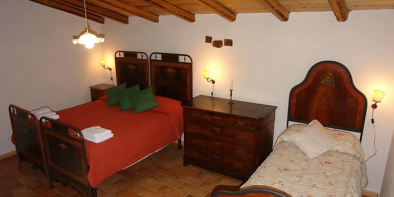 24 camera da letto antico forno